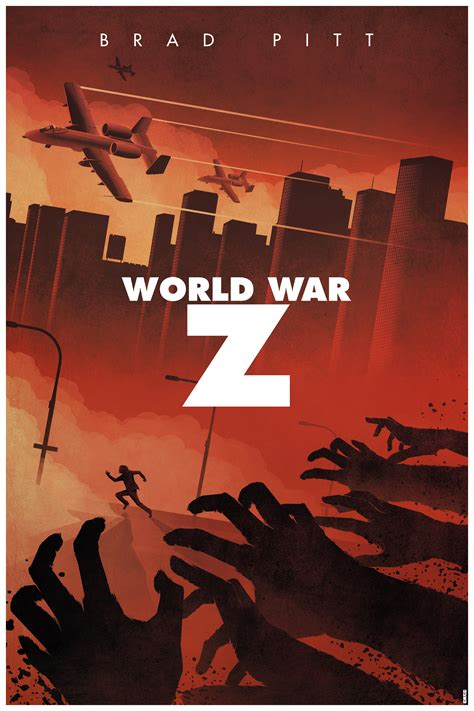 film bagus world war z poster posse project 1 world war z poster posse