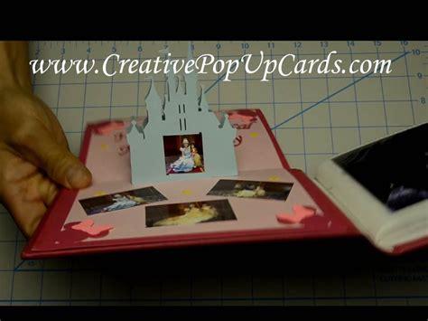 disney castle pop up card template disney castle pop up card tutorial