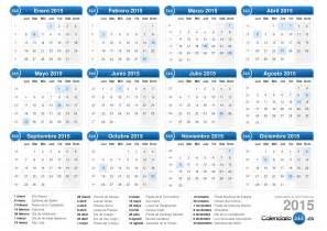 Calendario Dias Festivos 2015 Calendario 2015