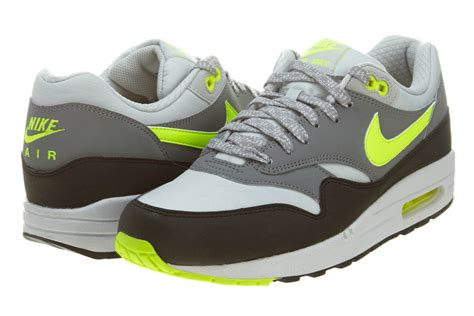 ebay nike shoes nike air max 1 premium grey white lime new mens suede