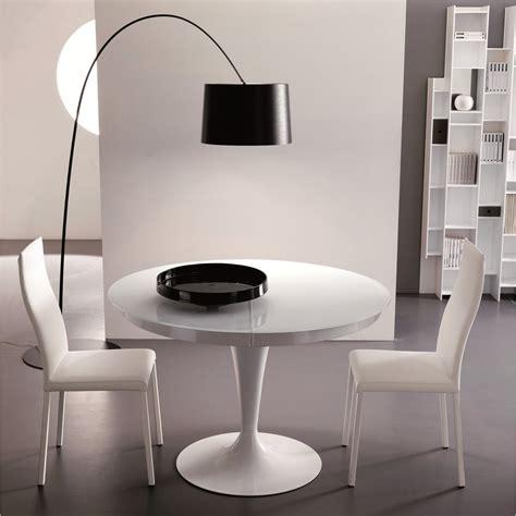 tavoli allungabili rotondi tavolo moderno rotondo allungabile eclipse arredaclick
