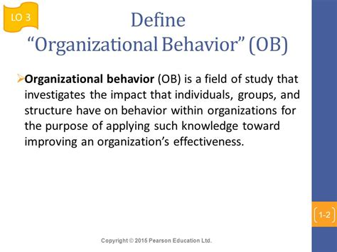 Design Behaviour Meaning | chapter 1 what is organizational behavior ppt video