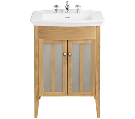 Oak Bathroom Furniture Freestanding Heritage Hidcote Freestanding Oak Vanity Unit For Blenheim Basin