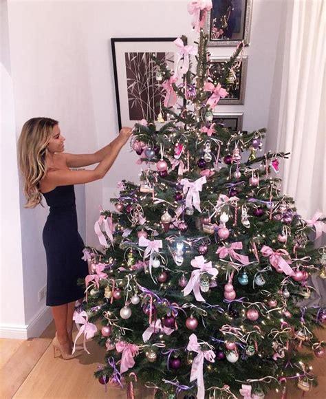 die besten 25 rosa weihnachtsbaum ideen auf pinterest