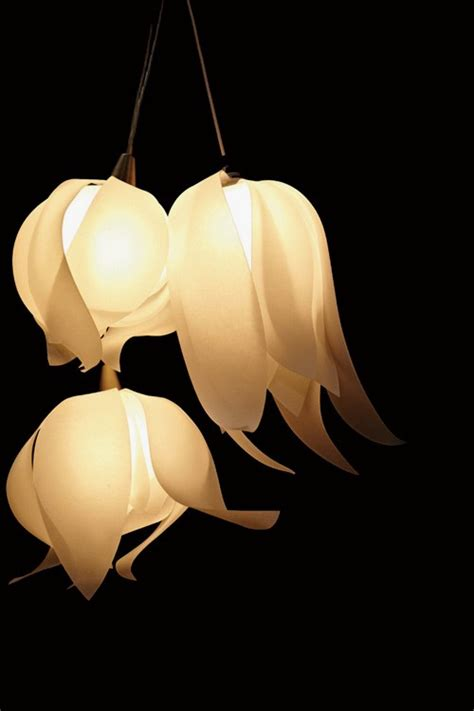Beautiful Lamps by Beautiful Pendant Lamps In Flower Form Blossom Pendant