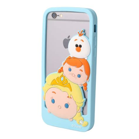 Tsumtsum Disney Casing Oppo Find 5 Custom this soft and silicone bumper phone features elsa and olaf stacked on each