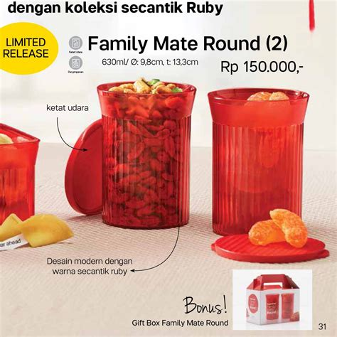 Family Mate by Family Mate Tupperware Indonesia Promo Terbaru
