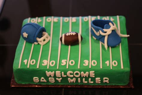 Baby Shower Football Cakes by Football Baby Shower Cake Cakecentral