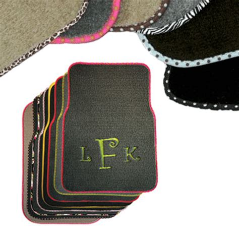 Monogramed Floor Mats by Personalized Car Mats Monogrammed Car Mats Custom Floor