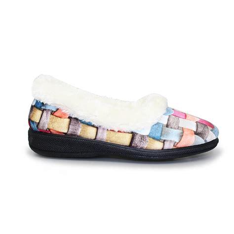 memory foam slipper boots lunar kla054 waffle memory foam slipper lunar from grs