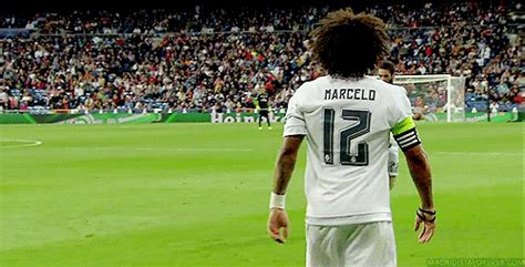 imagenes gif real madrid real madrid marcelo gif find share on giphy
