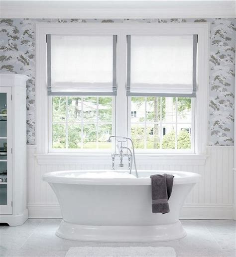 colourful roller blind bathroom 23 bathrooms with roman shades messagenote