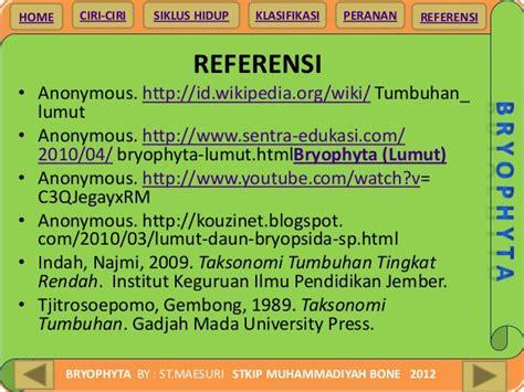 Taksonomi Tumbuhan Spermatophyta Gembong Tjitrosoepomo 1 bryophyta 2012 1