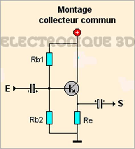 transistor pnp montage electronique 3d le transistor bipolaire calcul