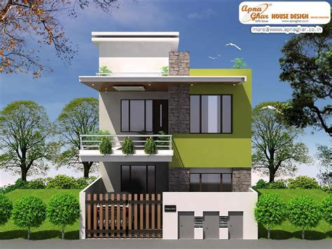 Simple Modern House Designs | simple duplex house hd images modern duplex house design