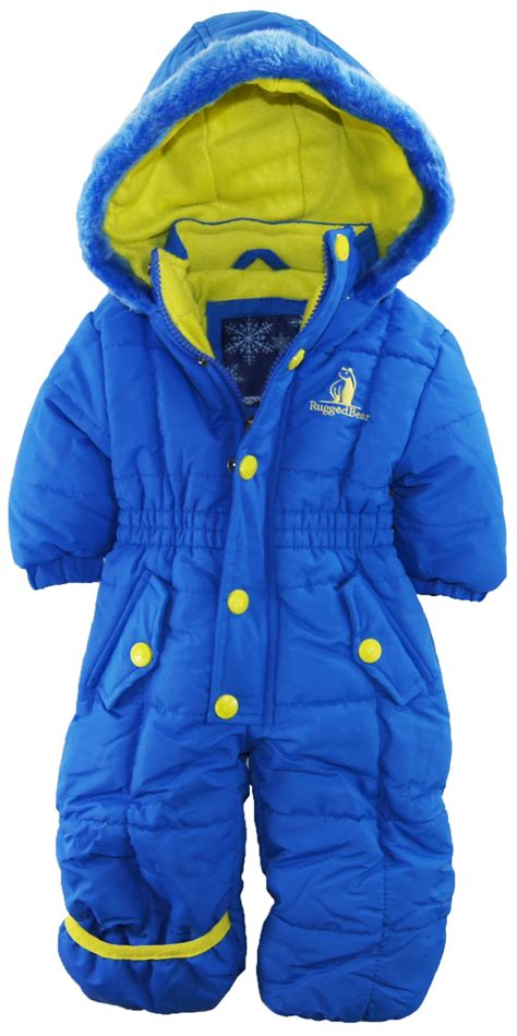 Rugged Snowsuit by Rugged Baby Boys Solid One Snowsuit Pram