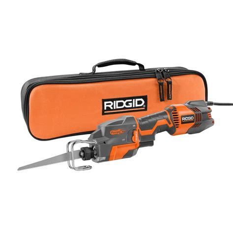 ridgid thru cool 6 1 handed orbital reciprocating saw