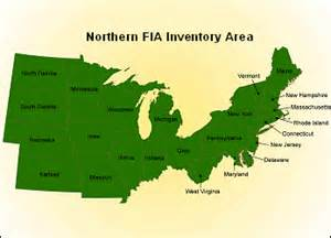 us map of northern states usda forest service