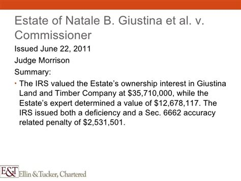 irs section 6662 valuation in a litigation context