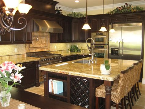 gourmet kitchen island bring the house with these decorating ideas