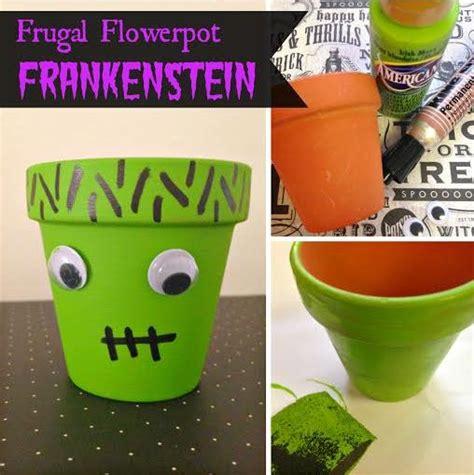 Pinterest Halloween Kids Crafts - halloween crafts for kids frankenstine flower pot halloween diy craft halloween
