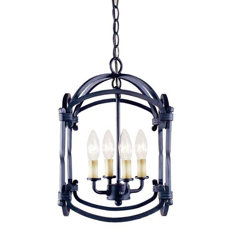 Outdoor Suspended Lighting World Imports Hastings Collection 4 Light Outdoor Rust Hanging Lantern Wi6140642 The Home Depot