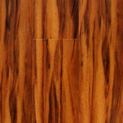 "Tropical Siberian Tigerwood 12 mm x 6""   Factory Flooring"