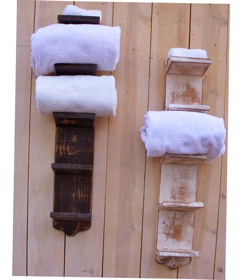 bathroom towel holder ideas bathroom towel storage ideas creative 2016 ellecrafts