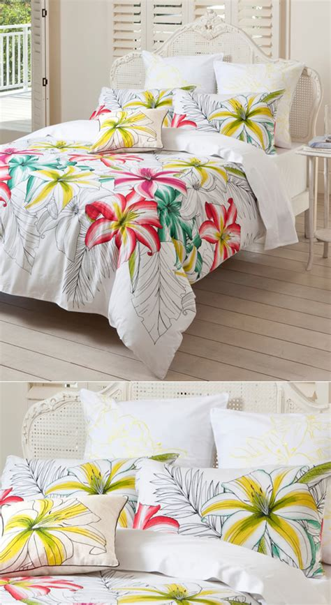 Quilt Esprit Tropical Tropical Island Living Cottonbox