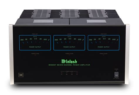 mcintosh mc8207 home theater lifier
