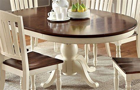 Cottage Style Dining Tables Furniture Of America Pauline Cottage Style Oval Dining Table Furniture Of America Http Www