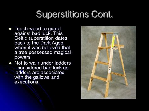 bad luck superstitions ppt elizabethan superstitions powerpoint presentation