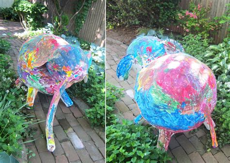 How To Make A Pinata Without Paper Mache - paper mache elephant 12 easy diy ideas guide patterns
