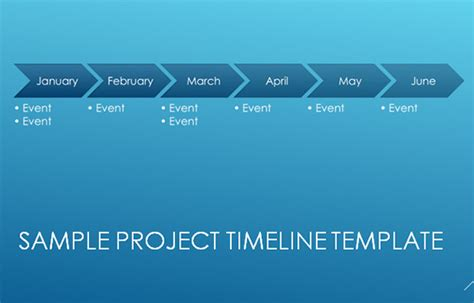 Download Free Project Timeline Template Excel Microsoft Powerpoint Timeline Template