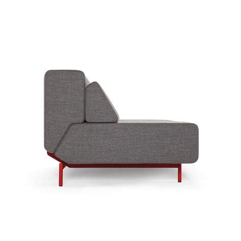 pil low sofa bed by prostoria by kvadra pil low light grey black kvadra touch of modern