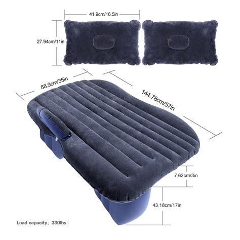 Air Mattress Back by Car Back Seat Cover Air Mattress Travel Bed