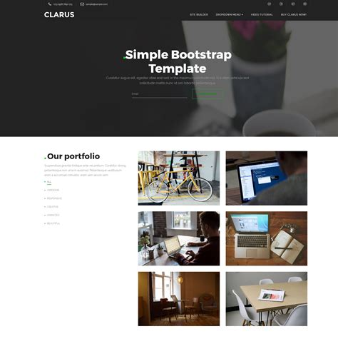 html basic themes 95 free bootstrap themes expected to get in the top in 2018