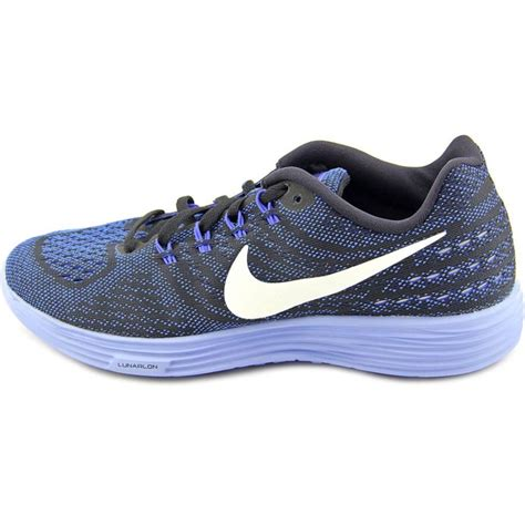 blue athletic shoes nike lunartempo 2 mesh blue running shoe athletic