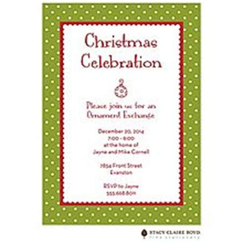 sle wording for ornament exchanges 1000 images about ornament exchange invitations on