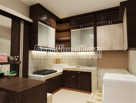desain dapur kecil multifungsi desain kitchen set dapur kecil minimalis ide buat rumah