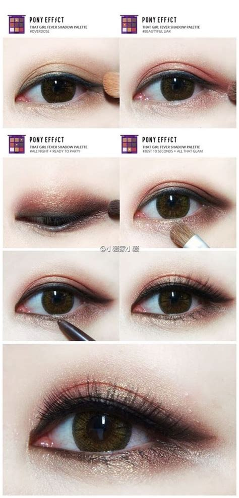 tutorial make up ala korea step by step 50 best makeup for asians images on pinterest