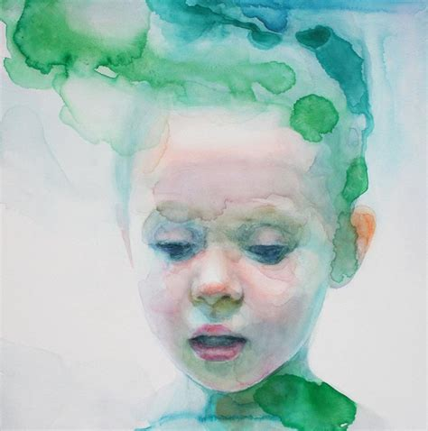 Cool Artist Ali Cavanaugh by Immerse Yourself In The New Work Of Watercolorist Ali