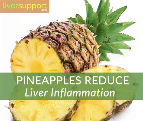 Detox Diet To Reduce Inflammation by Did You Pineapples Reduce Liver Inflammation