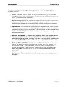 sow template for software development software project statement of work document sle