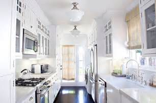 Small White Kitchen Design Galley Kitchen Design Ideas That Excel