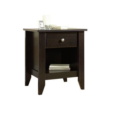 Sauder Shoal Creek Nightstand by Sauder Shoal Creek Stand Jamocha Wood Finish