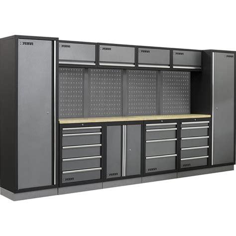 armadi usati ebay fervi a007a allestimento arredamento officina con mobili