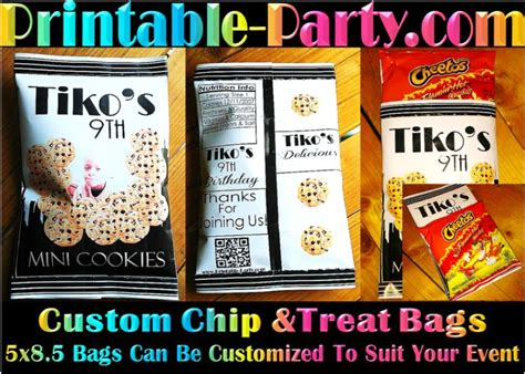 Custom One Of A Bags Chip by 17 Best Ideas About Chip Bags On Diy Paper Bag