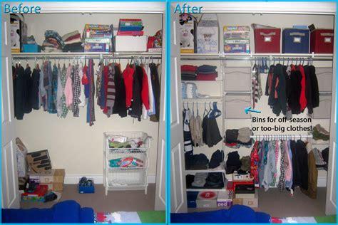 Closet Organizers Ideas by Closet Organization On Any Budget