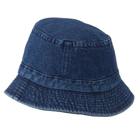 denim hat denim youth size pigment dyed washed hat hat